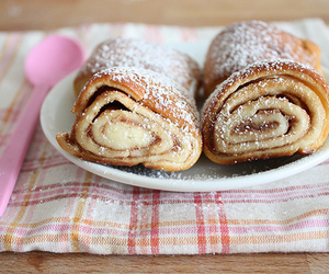 food, yummy, and pancakes image