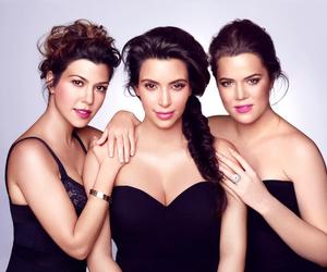 kim kardashian, kardashian, and kourtney kardashian image