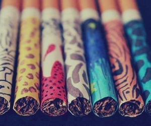 cigarettes, emo, and pastel image
