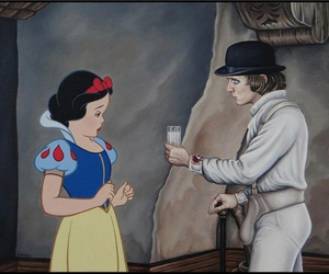 snow white, disney, and milk image