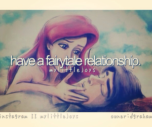 adorable, ariel, and true love image