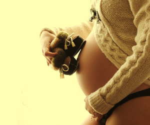 baby bump, belly, and pregnancy image