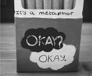 beautiful, cigarro, and metaphor image