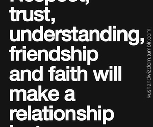 friendship, quote, and respect image