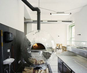 design, rotating, and pizza oven image