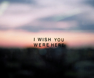 wish you were here image