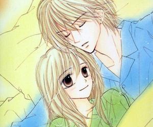 manga and good morning kiss image