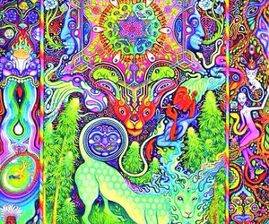 drugs, trippy, and psychedelic image