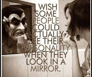 personality, mirror, and quotes image