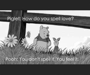 pooh, tiger, and love image