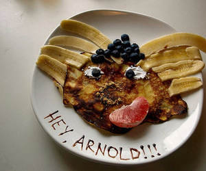 hey arnold, food, and funny image