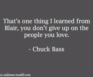 chuck bass, patience, and love image