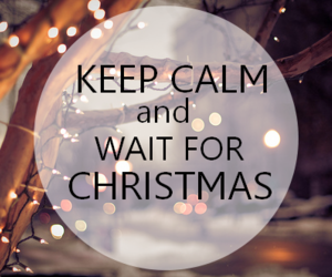 christmas, winter, and keep calm image