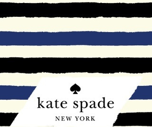 kate spade, wallpaper, and stripes image