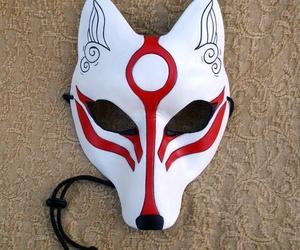 custom, white, and fox image
