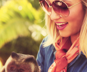 dianna agron and blonde image