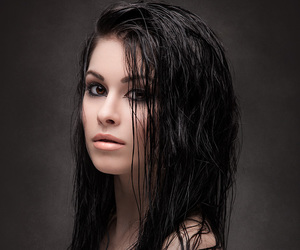 body, brunette, and hair image