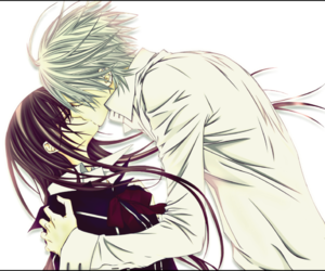 vampire knight, otp, and vampire image