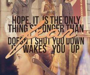 hunger games and divergent image