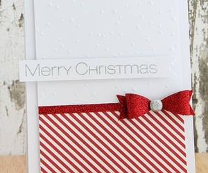christmas, christmas card, and handmade image
