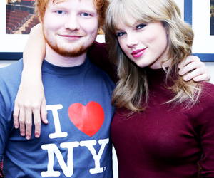 Taylor Swift, ed sheeran, and ed image