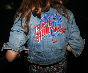 girl, hollywood, and planet hollywood image