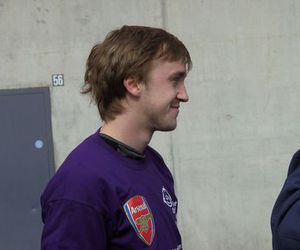 Arsenal and tom felton image