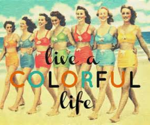 life, love, and vintage image