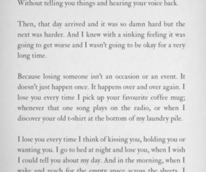 quotes, losing you, and sad image