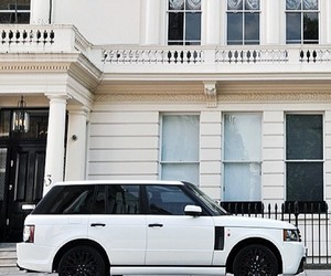car, range rover, and classy image