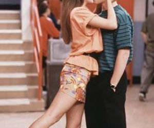 couple, kiss, and saved by the bell image