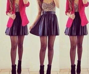 girl, outfit, and drees image