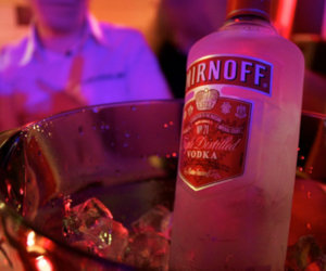 party, drink, and smirnoff image