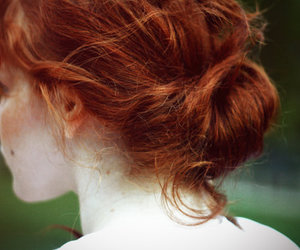 girl, redhead, and hair image