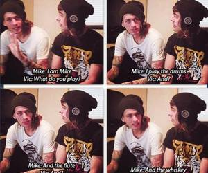 mike fuentes, pierce the veil, and vic fuentes image
