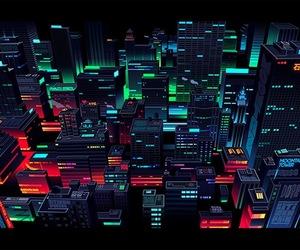 city, japan, and illustration image