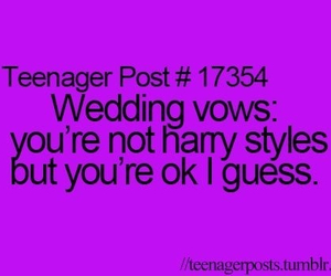 Harry Styles, teenager post, and wedding image