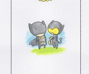 bat, batgirl, and cute image