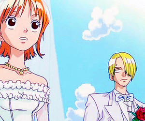 one piece, sanna, and nami image