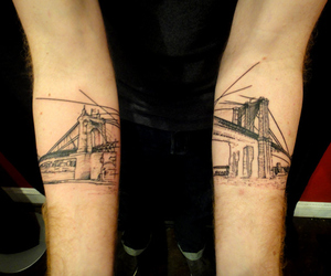 architecture, ink, and art image