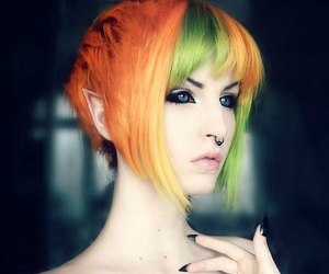 elf and piercing image