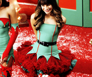 christmas, glee, and perfect image