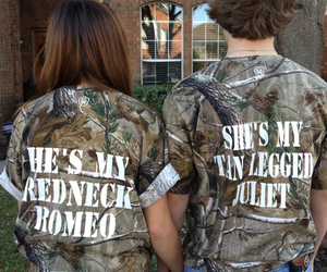 redneck and love image