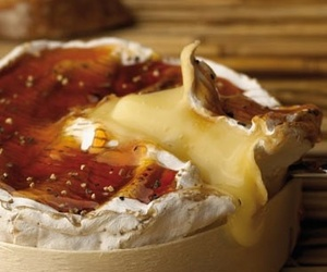 brie, cheese, and french food image