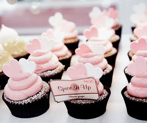 cupcakes, food, and kawaii image