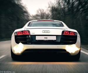 car, luxury, and audi image