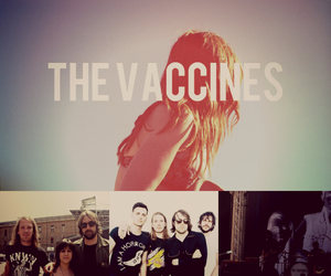 justin young, freddie cowan, and the vaccines image