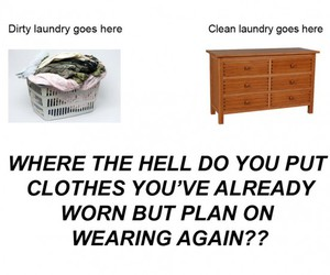 clothes, dirty, and funny image