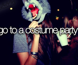 party, bucket list, and costume image