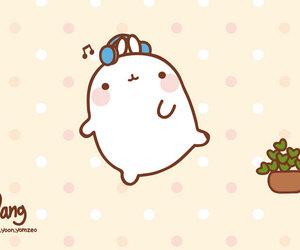 molang, kawaii, and cute image